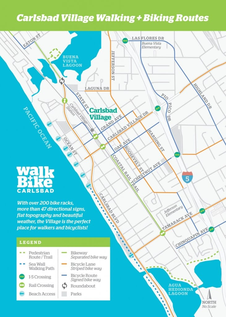 Walk Bike Pocket Map