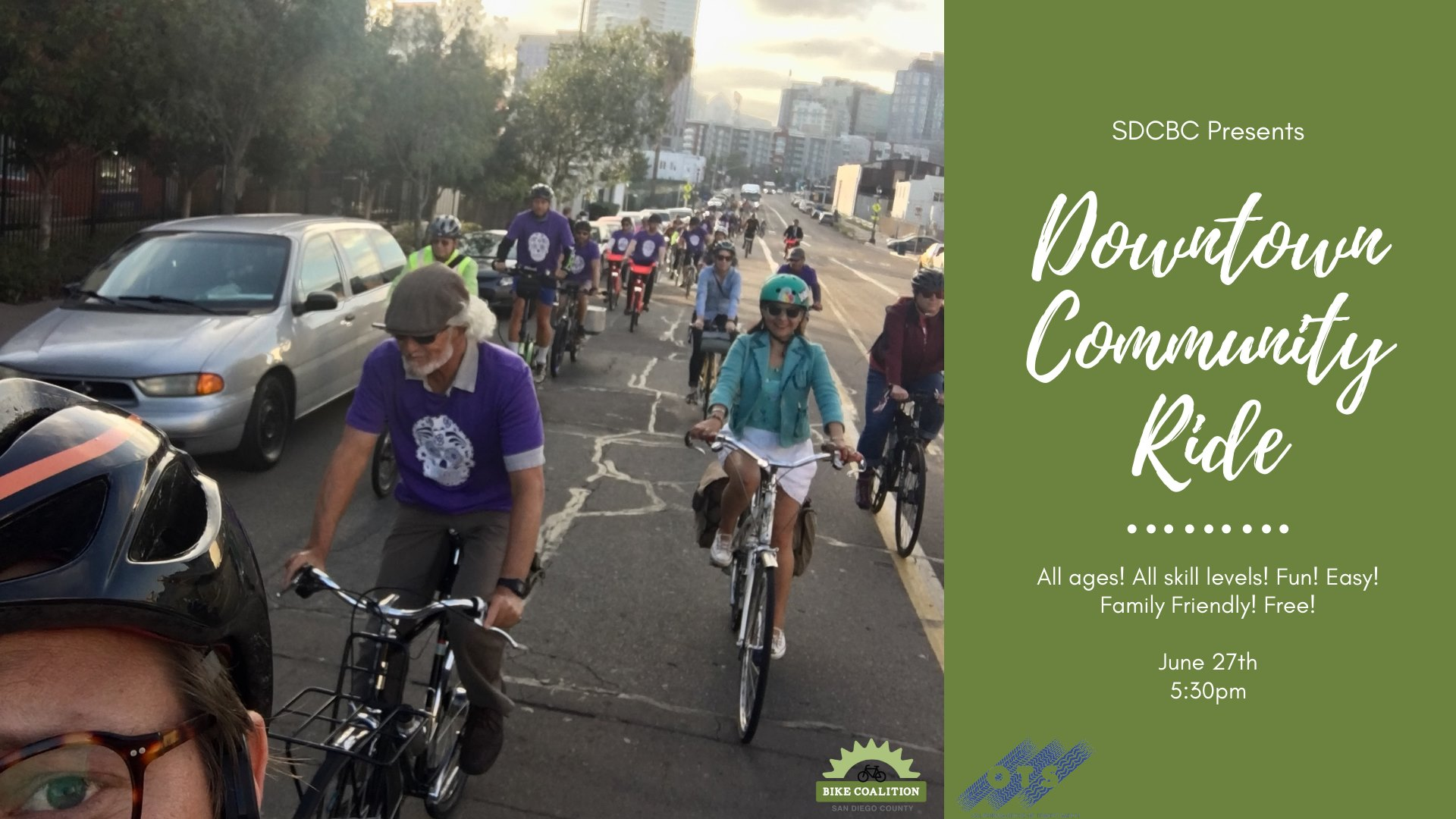 Community Bike Ride Downtown – San Diego County Bicycle