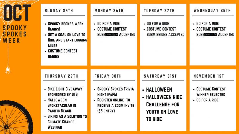 spooky spokes calendar 10-19